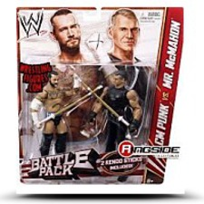 Wwe Battle Pack Cm Punk Vs Vince Mc