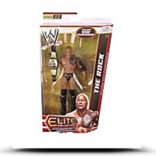 Wwe Elite Collection The Rock Action