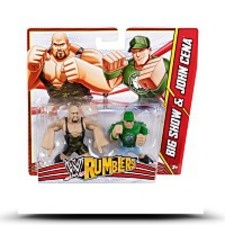 Wwe Rumblers Big Show And John Cena Figure