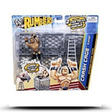 Wwe Rumblers Crash Cage Playset