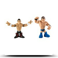 Wwe Rumblers Evan Bourne And The Miz