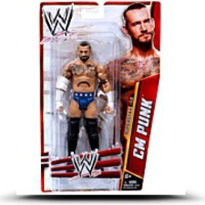 Wwe Series 33 Superstar Cm Punk Figure