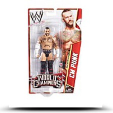 Wwe World Champions Cm Punk Action Figure