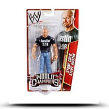 Wwe World Champions Steve Austin Action