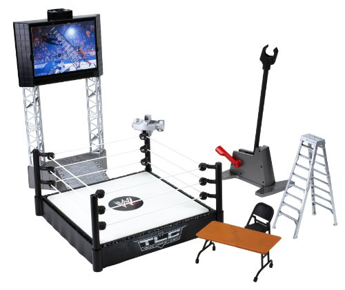 Wwe Flex Force High Flyin Fury Playset